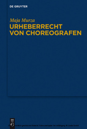 Urheberrecht von Choreografen
