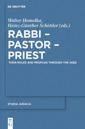 Rabbi - Pastor - Priest