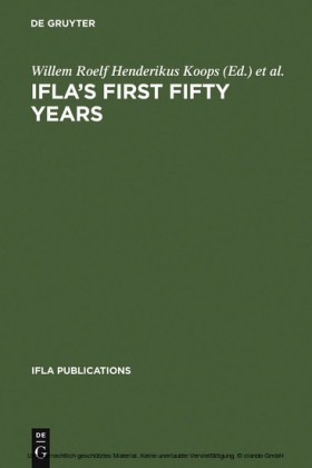 IFLA's First Fifty Years