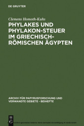 Phylakes und Phylakon-Steuer im griechisch-römischen Ägypten