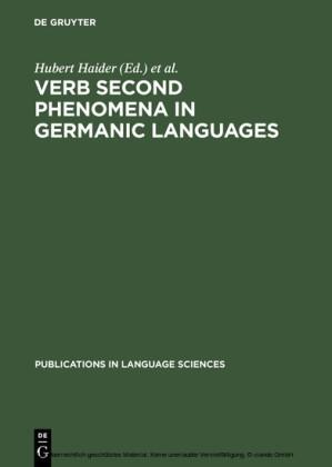 Verb Second Phenomena in Germanic Languages