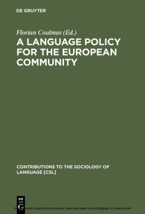 A Language Policy for the European Community