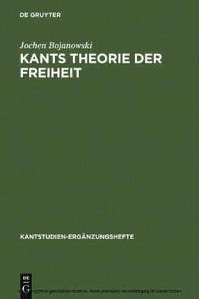 Kants Theorie der Freiheit