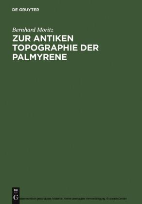 Zur antiken Topographie der Palmyrene