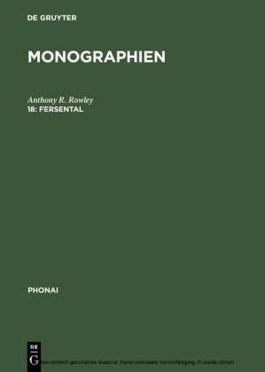 Phonai: Monographien 18