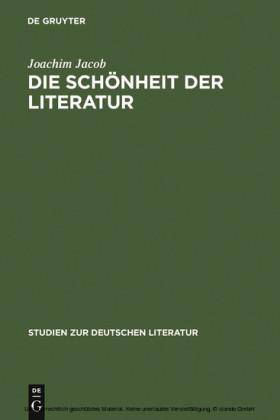 Die Schönheit der Literatur