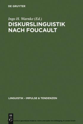 Diskurslinguistik nach Foucault