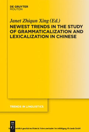 Newest Trends in the Study of Grammaticalization and Lexicalization in Chinese