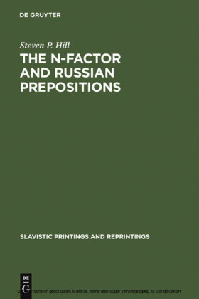 The N-Factor and Russian Prepositions