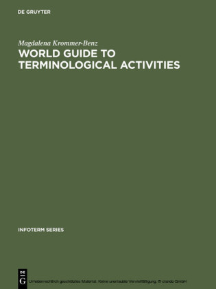 World guide to terminological activities