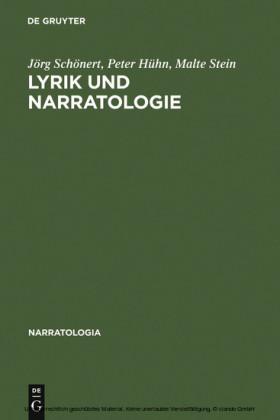 Lyrik und Narratologie