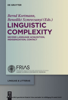 Linguistic Complexity