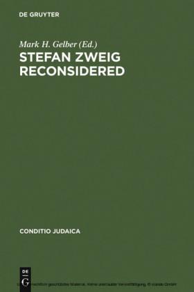 Stefan Zweig Reconsidered