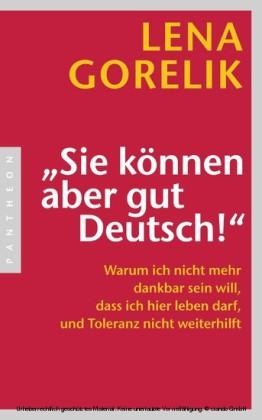 'Sie können aber gut Deutsch!'