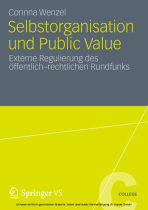Selbstorganisation und Public Value