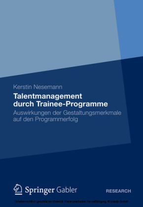 Talentmanagement durch Trainee-Programme