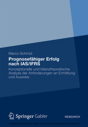 Prognosefähiger Erfolg nach IAS/IFRS