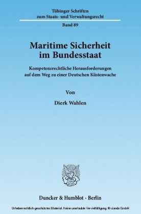 Maritime Sicherheit im Bundesstaat.