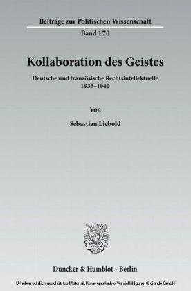 Kollaboration des Geistes.