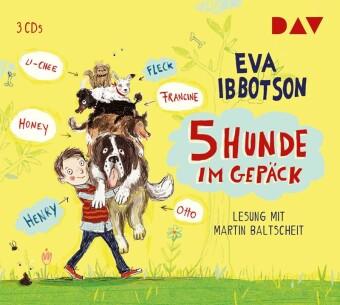 5 Hunde im Gepäck, 3 Audio-CDs