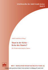 Staat in der Krise - Krise des Staates?