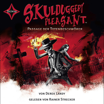 Skulduggery Pleasant - Passage der Totenbeschwörer, 6 Audio-CDs
