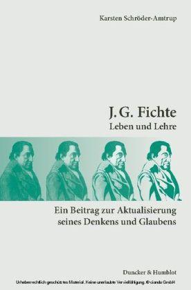J. G. Fichte.