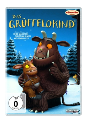 Das Grüffelokind, 1 DVD