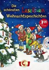 Die schönsten Leselöwen-Weihnachtsgeschichten, m. Audio-CD Cover