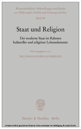 Staat und Religion.