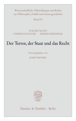 Der Terror, der Staat und das Recht.
