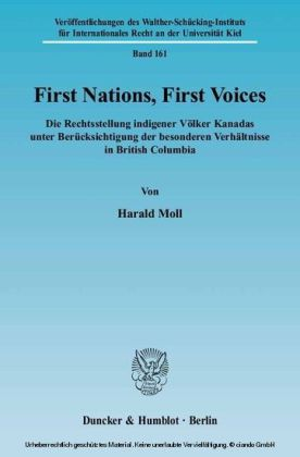First Nations, First Voices.