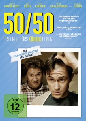 50/50 - Freunde fürs (Über)Leben, 1 DVD