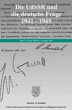 18. Juni 1948 bis 5. November 1949.