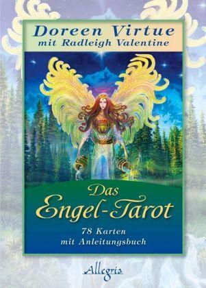 Das Engel-Tarot, Tarotkarten m. Anleitungsbuch