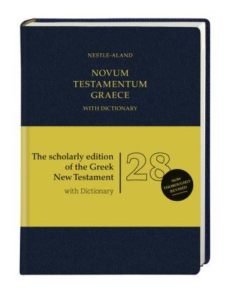 Novum Testamentum Graece, 28. revidierte Auflage, with Dictionary (Greek-Englisch)