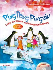 Ping Pong Pinguin, m. Audio-CD Cover