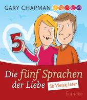 Die fünf Sprachen der Liebe für Wenig-Leser Cover