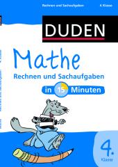 Rechnen und Sachaufgaben, 4. Klasse Cover