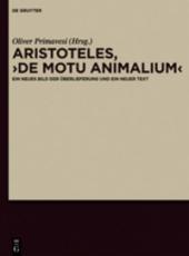 """Aristoteles, """"De motu animalium"""""""