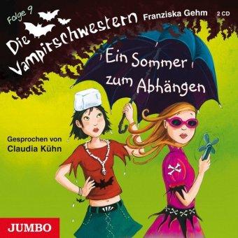 Die Vampirschwestern - Ein Sommer zum Abhängen, 2 Audio-CDs