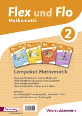 Lernpaket Mathematik 2: 4 Themenhefte (Verbrauchsmaterial) Cover