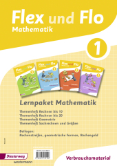 Lernpaket Mathematik 1: 4 Themenhefte (Verbrauchsmaterial) Cover
