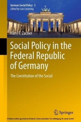 Social Policy in the Federal Republic of Germany
