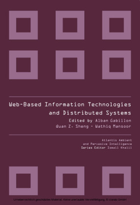 WEB-BASED INFORMATION TECHNOLOGIES AND DISTRIBUTED SYSTEMS