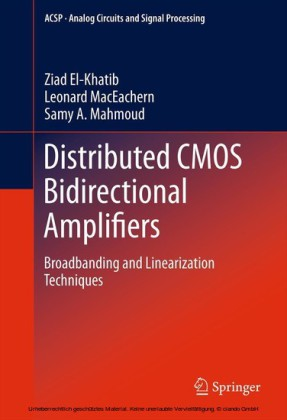 Distributed CMOS Bidirectional Amplifiers