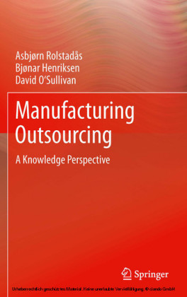 Manufacturing Outsourcing
