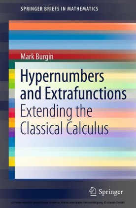 Hypernumbers and Extrafunctions