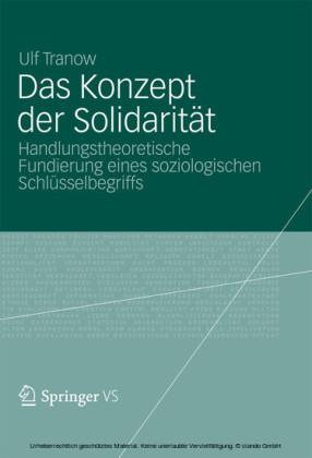Das Konzept der Solidarität