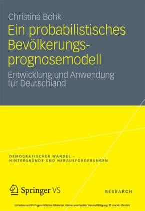 Ein probabilistisches Bevölkerungsprognosemodell